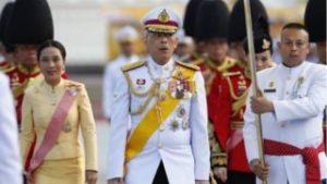 الملك التايلاندي يبدأ التتويج لمدة ثلاثة أيام