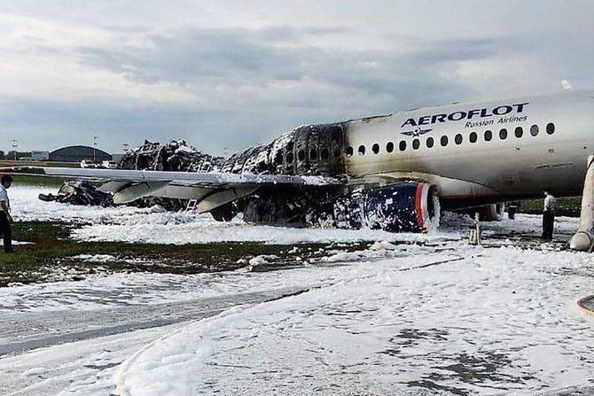 روسيا تحقق في حريق الطائرة القاتل
