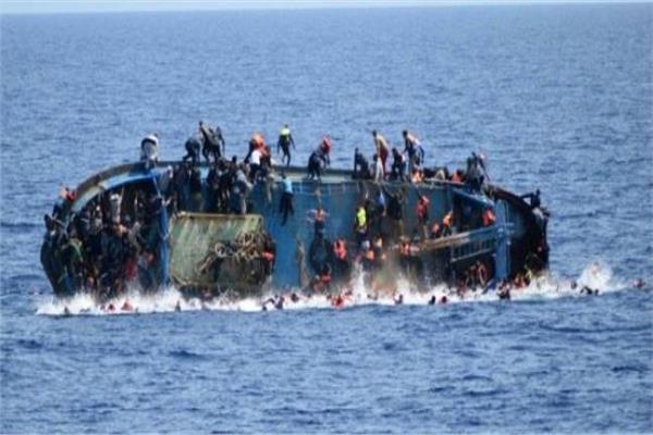 غرق 70 مهاجرا