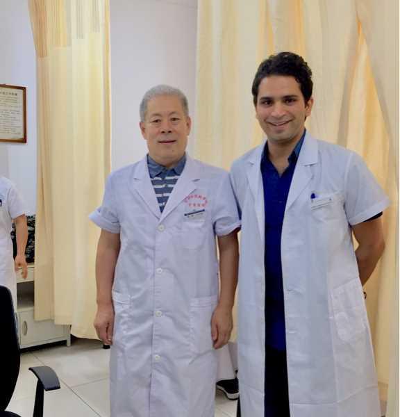 دكتور ابر صينيه - احمد رضا